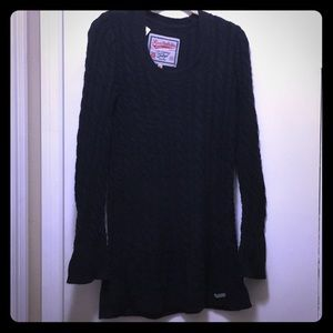 Superdry Knit Sweater in Black - M